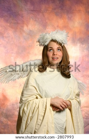 Beautiful Angel - stock photo