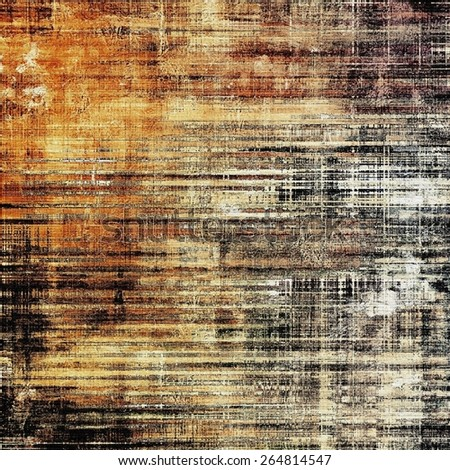Beautiful antique vintage background. With different color patterns: yellow (beige); brown; gray; black - stock photo