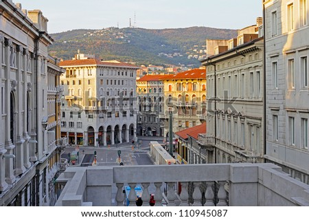 Trieste Italy Pictures of Trieste Italy Stock