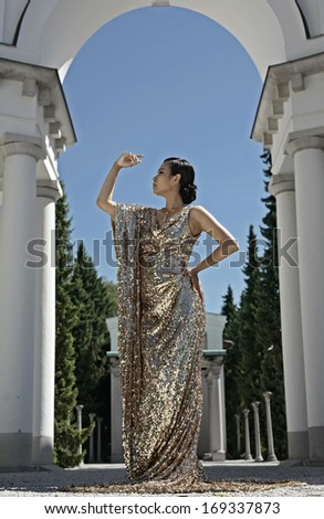 Ancient Roman Women Clothing Stock Photos, Illustrations, and Vector
