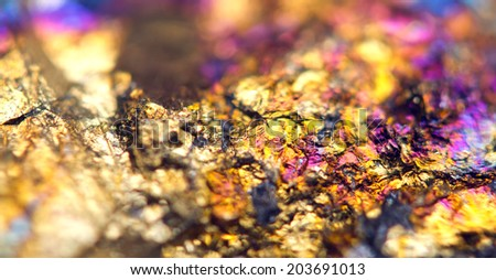 Beautiful background . Jewel ore.  Macro. Extreme closeup  - stock photo