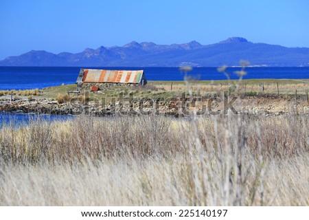 Beautiful Beach In South Australia - stock photo