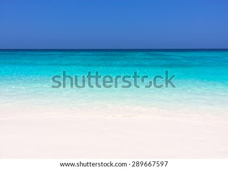 Beautiful Beach Similan Islands.Thailand, Phuket. - stock photo