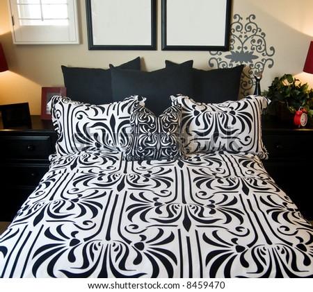 Beautiful Bedroom - stock photo