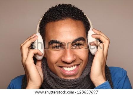 Beautiful Black Teenager - stock photo