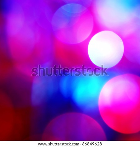 beautiful bokeh - stock photo