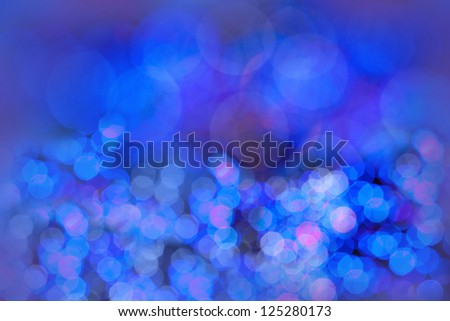 beautiful bokeh as holiday abstract background - stock photo