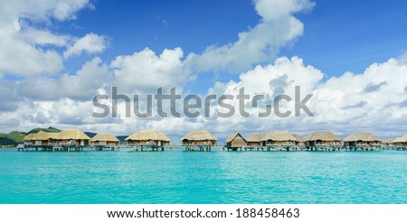 Beautiful Bora Bora - stock photo