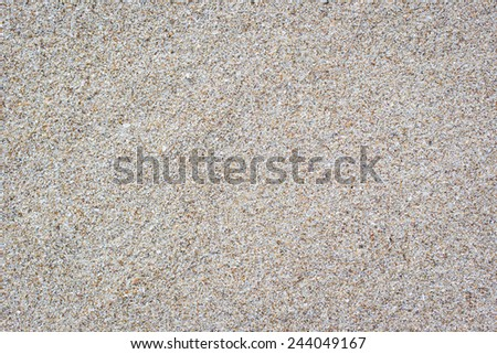 Beautiful clean sand background. - stock photo