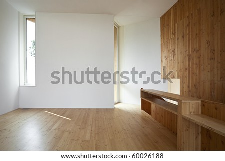 beautiful ecologic house - stock photo