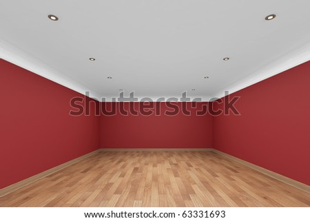 Beautiful Empty Interior - stock photo