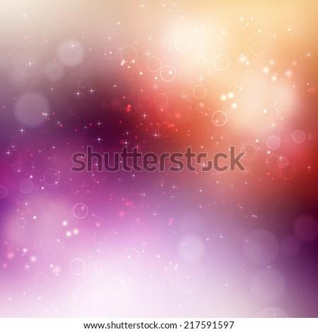 beautiful festive fantasy, bokeh background - stock photo