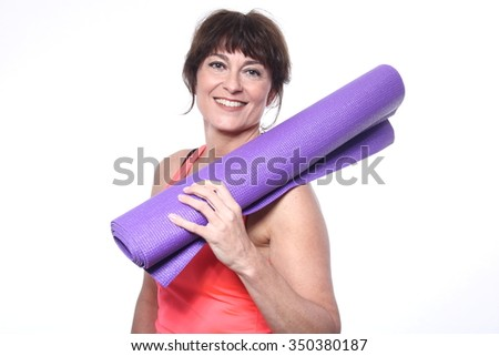 Beautiful fitness woman - stock photo