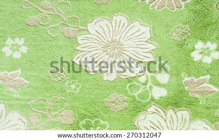 Beautiful floral pattern, fabric texture - stock photo