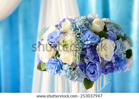 Beautiful flower wedding - stock photo