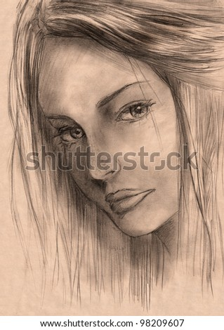 Beauty drawing Stock Photos, Images, & Pictures | Shutterstock