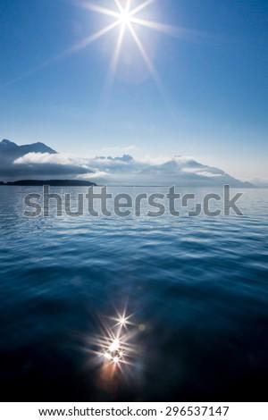 Beautiful Glacier Bay, Alaska - stock photo