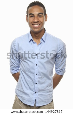 Beautiful happy Teenager - stock photo