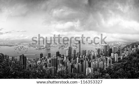 Beautiful Hongkong - stock photo