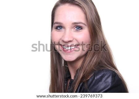 Beautiful lady - stock photo