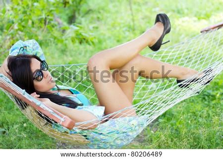 Beautiful laziness - stock photo