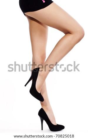 Beautiful legs - stock photo