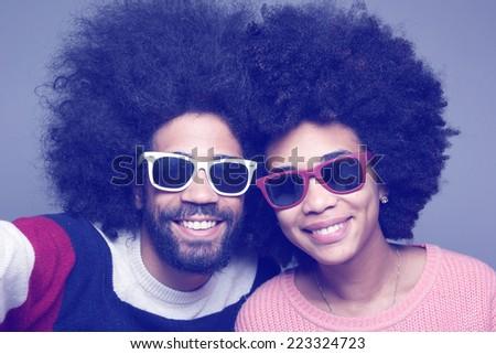 Beautiful Love couple - stock photo