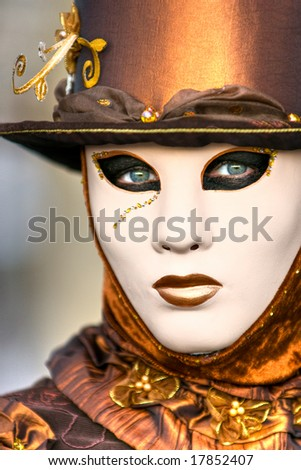 Beautiful mask in Venice, Italy. - stock photo