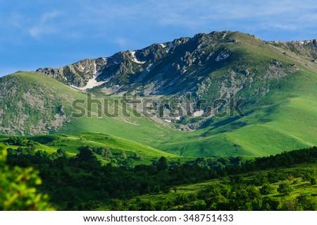 Beautiful mountain, Armenia - stock photo