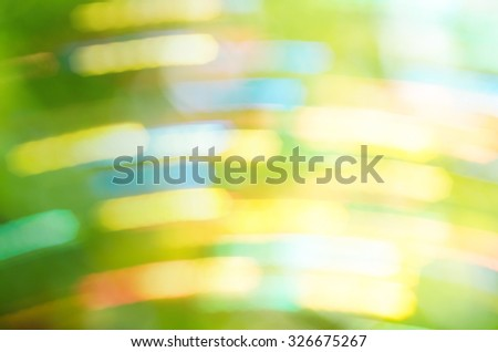 Beautiful Nature Bokeh. Blurred background - stock photo