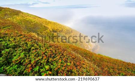 Beautiful Oregon Coast - Florence, Oregon - stock photo