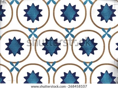 beautiful pattern - stock photo