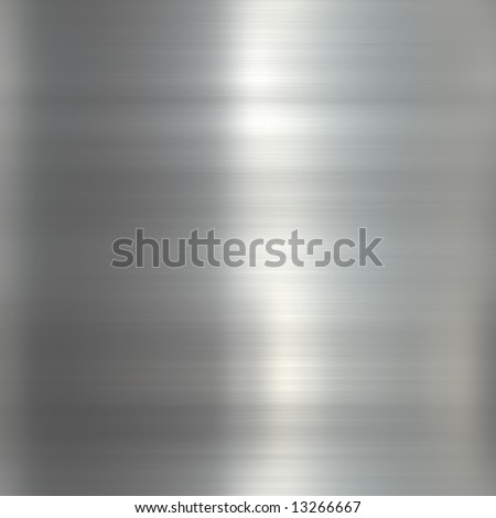 Beautiful polished stainless steel texture - stock photo