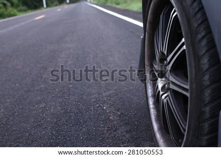 Beautiful roads - stock photo