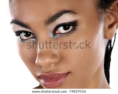 beautiful South girl - stock photo