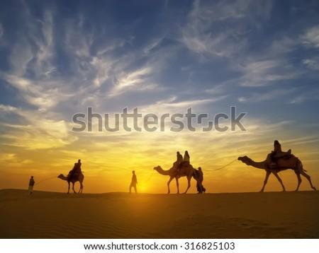 top thar desert sunset - photo #9