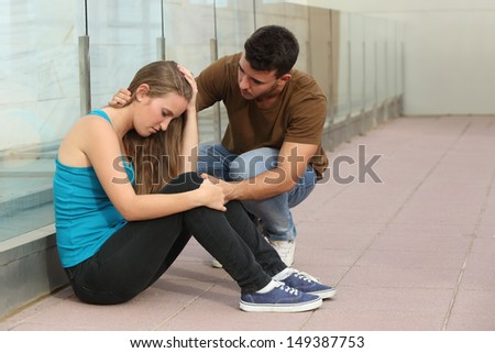 Comforting A Friend Stock Photos Images Amp Pictures