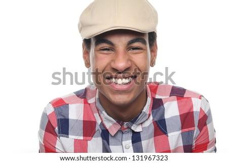 Beautiful teenager posing - stock photo