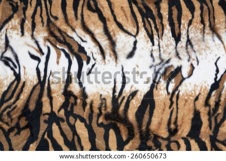 beautiful tiger fur colorful texture with orange beige yellow and black - stock photo