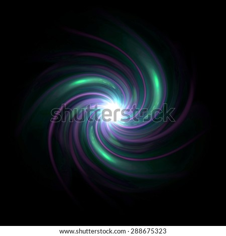 beautiful twirl lens flare effect is simple to use add on background - stock photo
