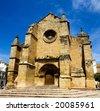 Beautiful view of Santa Marina church in Cordoba at sunny day, Andalusia, Spain - stock photo