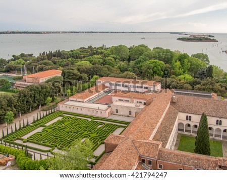 Beautiful view of Venice, Italy - stock photo