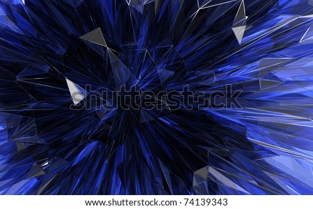 beautiful violet crystal background - stock photo