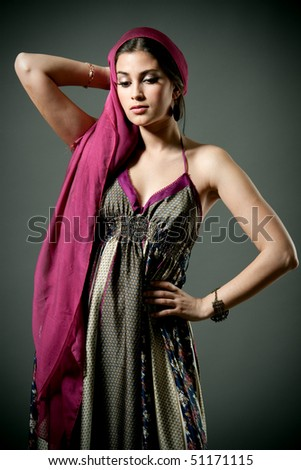Beautiful woman - stock photo