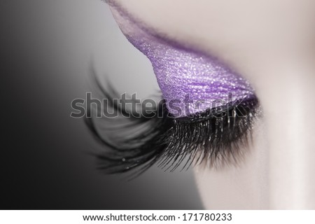 Beautiful Stock Images Beautiful woman eye close up
