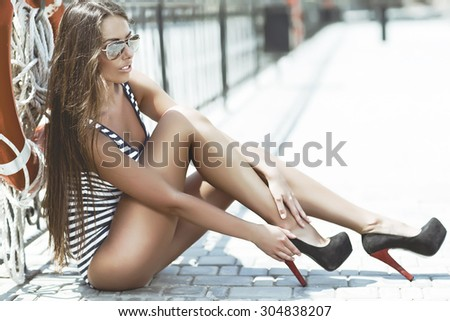 Beautiful Women  - stock photo