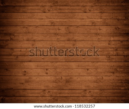 beautiful wooden wall - stock photo