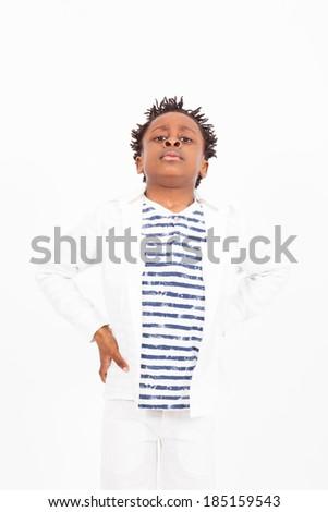 Beautiful young child - stock photo