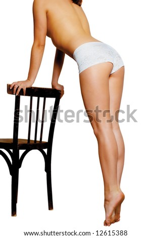 Beautiful Young Girls Body - stock photo