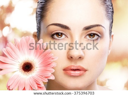 Beauty. - stock photo